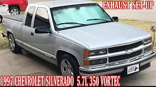 1997 Chevrolet Silverado 5.7L 350 Vortec Straight Pipe Carven R Exhaust