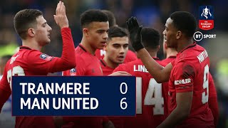 Tranmere vs Manchester United (0-6) | Emirates FA Cup Highlights