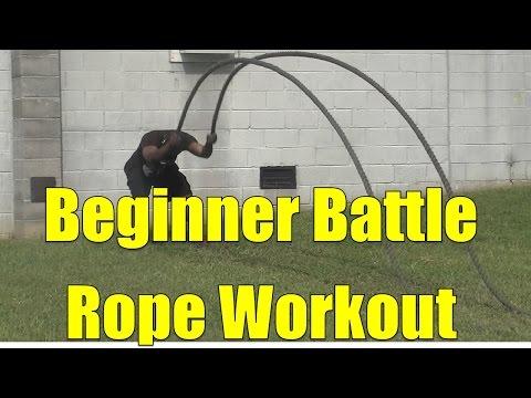 Beginner Battle Rope Workout