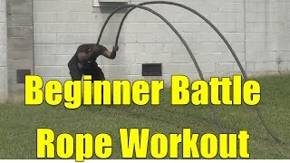 Beginner Battle Rope Workout