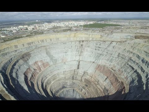 Siberia mine horror: 150 people trapped as Russian diamond mine collapses in flood