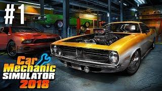Car Mechanic Simulator 2018 Gameplay Walkthrough Part 1   Fixing My First Car