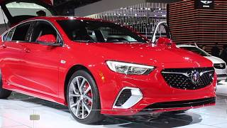 2019 Buick Regal at the 2018 NAIAS Detroit Auto Show