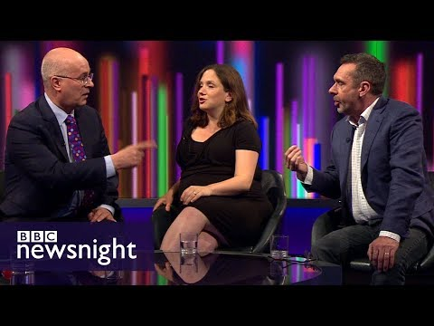 Paul Mason and Iain Dale clash over Theresa May - BBC Newsnight