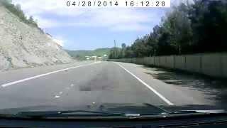 Всё Черное море 2014, на машине, дорога. Джубга Туапсе Сочи Адлер Красная поляна Лазаревское