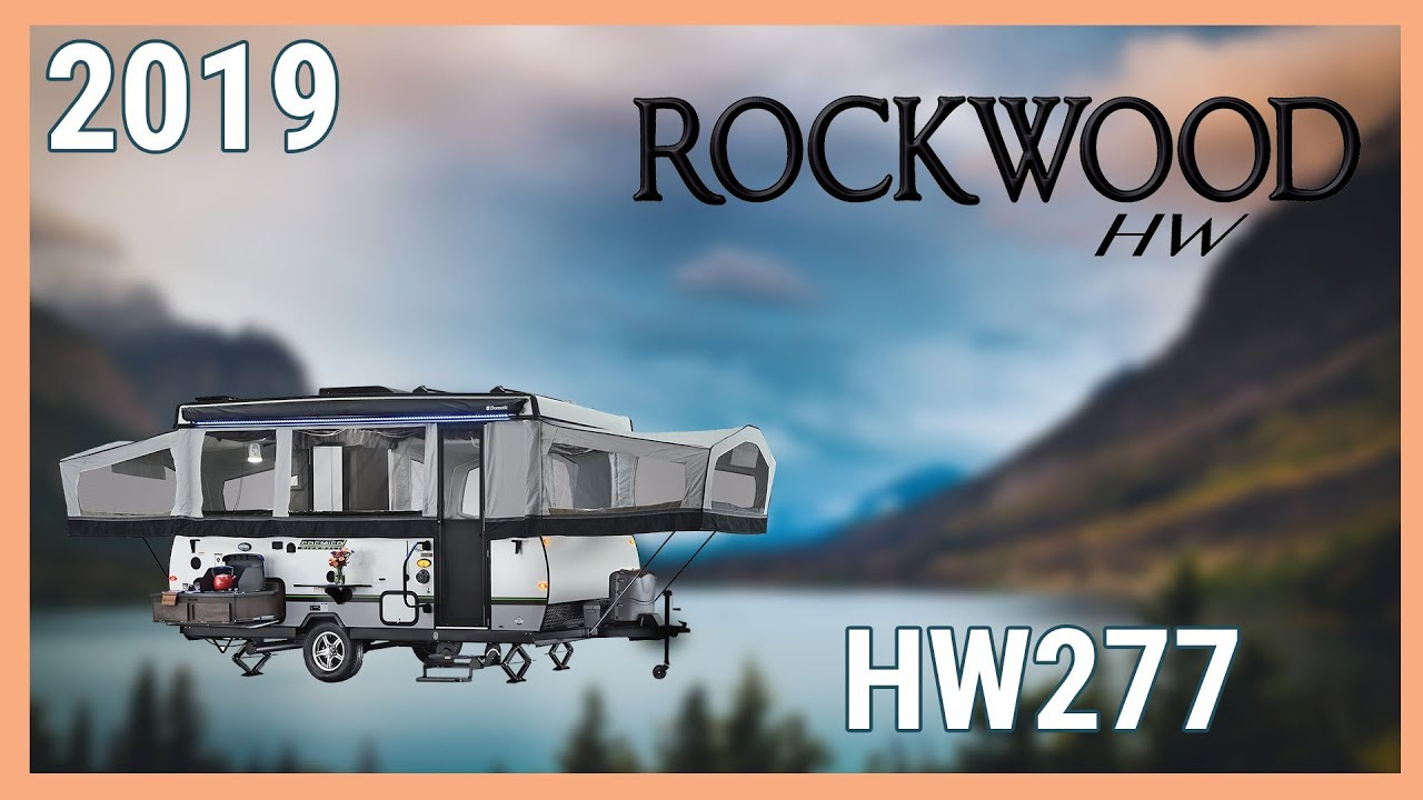 2019 Forest River Rockwood High Wall HW277 Folding Pop-Up For Sale  TerryTown RV