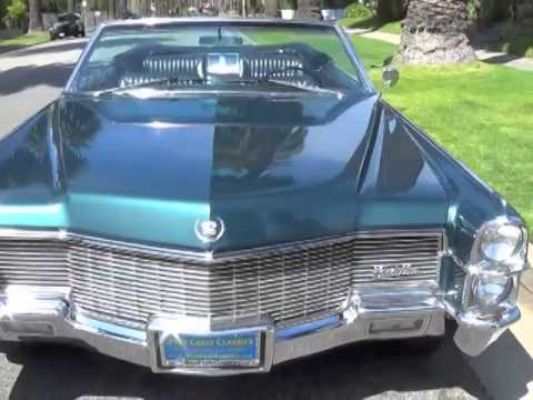 classic american car dealers in california selling classic cadillac eldorado convertible youtube. Black Bedroom Furniture Sets. Home Design Ideas