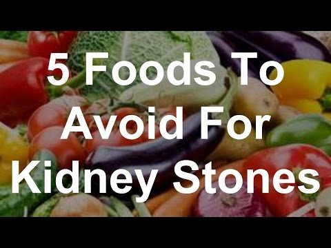 5 Foods To Avoid For Kidney Stones - YouTube