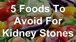 hqdefault - Foods To Be Avoided For Kidney Stone