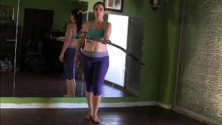 Spinning Your Sword for Belly Dance