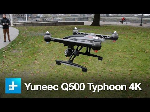 Yuneec Q500 Typhoon 4k quadcopter - Hands on
