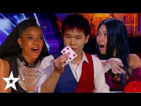 MINDBLOWING Auditions By Magician ERIC CHIEN On Got Talent! | Got Talent Global