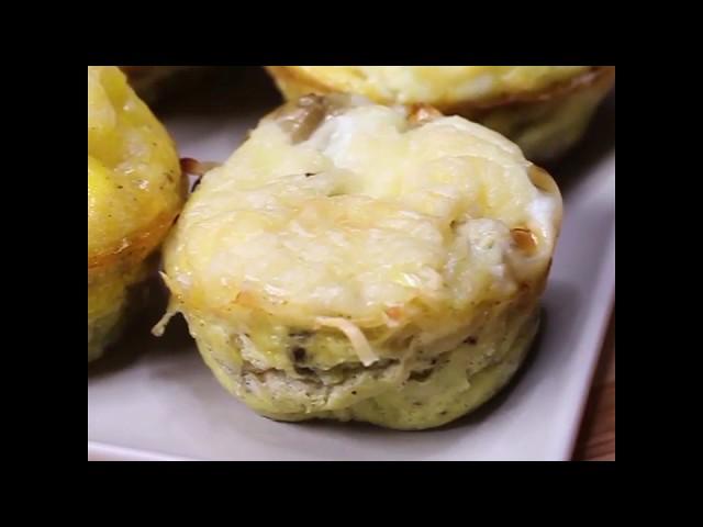 Muffins salés légumes et fromage