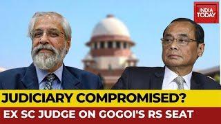Ex- SC Judge Madan Lokur Exclusive On Ranjan Gogoi's RS Nomination | News Today With Rajdeep