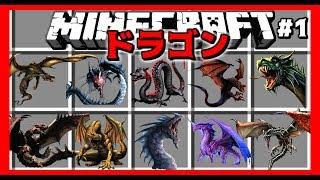 [マインクラフト] ドラゴン育成譚 Part1  [マイクラ実況] [マインクラフト mod]