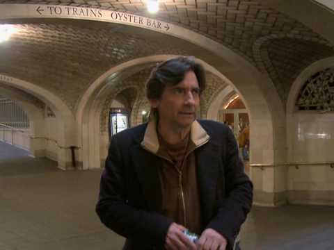 Griffin Dunne  Grand Central Terminal  New York