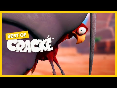 CRACKÉ - UNSHAKABLE | Cartoon for kids | by Squeeze