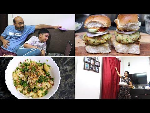 शाम-से-रात-तक-का-रूटीन-||-made-crocodile-burger-in-dinner-||-super-fun-family-time-||