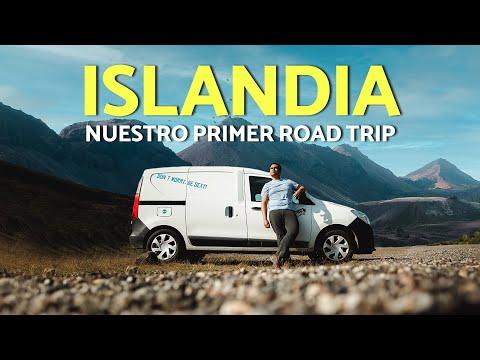 RECORRIMOS UN PAÍS ENTERO EN CAMPERVAN 🚙 | (ISLANDIA ROAD TRIP #1🇮🇸)