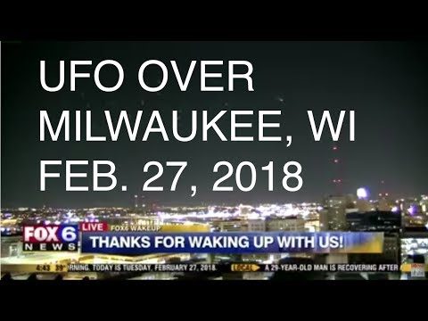 UFO over Milwaukee, WI - FOX6 LIVE