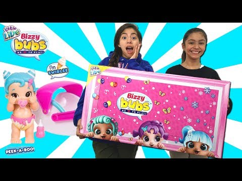 ROBOT BABIES??? Bizzy Bubs Kawaii NEW from Moose Toys Little Live