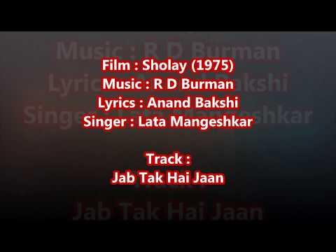 Haan jab tak hai jaan -  - Full Karaoke with scrolling lyrics