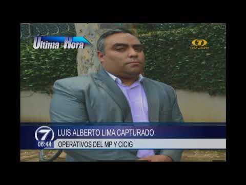 Luis Alberto Lima capturado