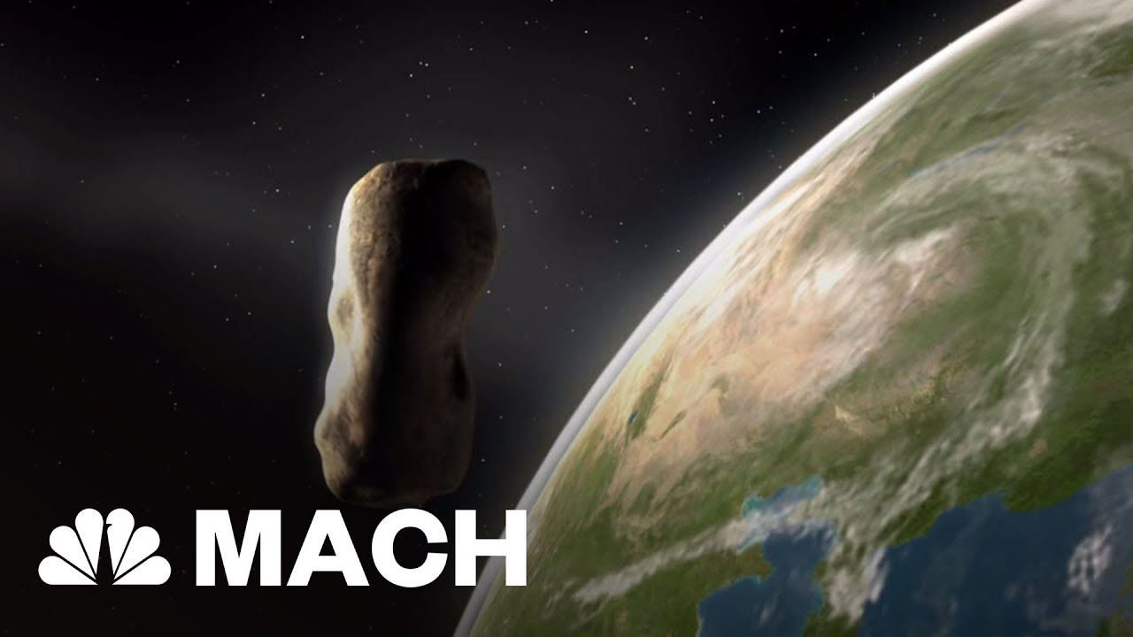A Large Asteroid Is About To Pass By Earth | Mach | NBC ...