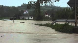 Opstina Vladimirci - Poplava 15.5.2014. Vlasanica (put Debrc-Ub)