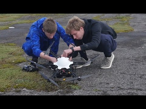 HOW TO BREAK A DRONE…