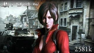 Resident Evil 6 PS4 Pro NO MERCY 2581k Steel Beast Ada 60fps