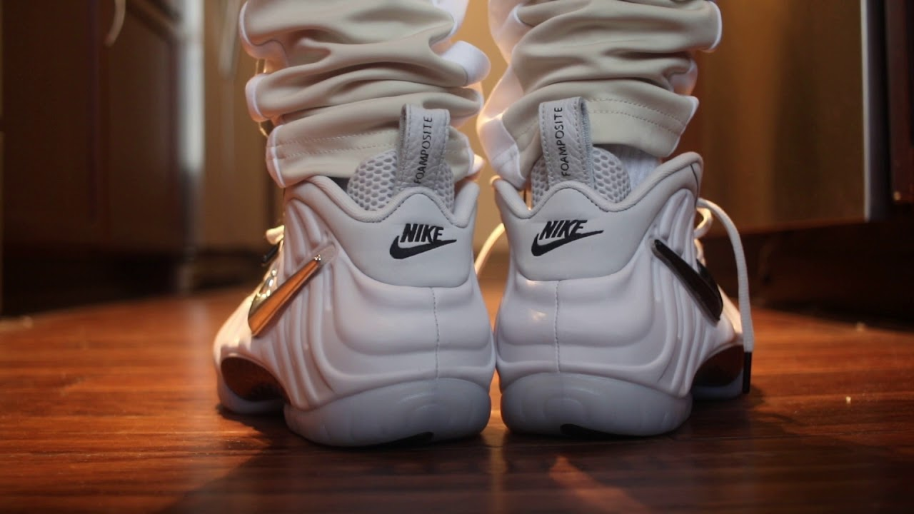 huge discount 6671a 1c862 Foamposite Pro All Star On Foot