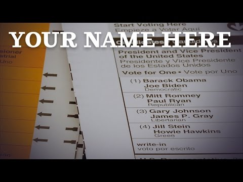 Episode Two: Your Name Here (How 3rd Parties Get Ballot Access)
