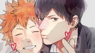 И без остановок я дышу тобой... | Кагеяма и Хината (Яой-клип) | Волейбол