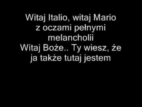 L'italiano vero-polskie napisy