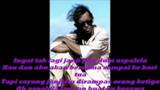 Saiful Apek Aspalela Lirik