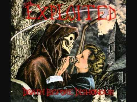 The Exploited (UK) - Death Before Dishonour FULL ALBUM 1987 (2001 reissue)
