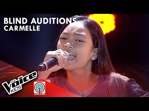 Carmelle Collado - Bituin Walang Ningning | Blind Auditions | The Voice  Kids Philippines Season 4