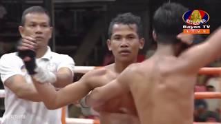 អេលីត សុវណ្ណម៉ាយ vs ប៉ុក វិបុល, 12/October/2018, BayonTV Boxing   Khmer Boxing Highlights