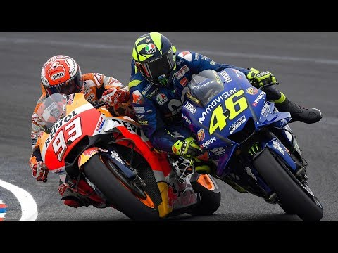 Termas Clash: Marquez and Rossi, the clash of the titans!