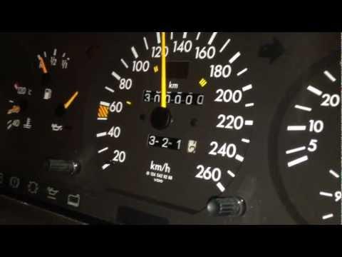 Mercedes-Benz W124 M104 300E-24 acceleration 80-150 & 300.000km HD