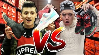NIKE OUTLET VS ROSS! Sneaker Shopping CHALLENGE with LEGIT VLOGS!