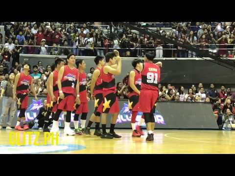 Star Magic Basketball Game: Team Red's Entrance