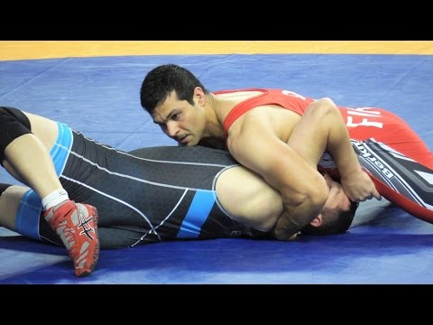 Freestyle Wrestling PIN - Finland vs South Africa