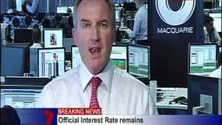 Banker Caught looking at Porn during Live TV News Report