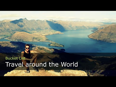 #1 - Travel Around the World - 8 Month, 8 Countries in 3 Minutes