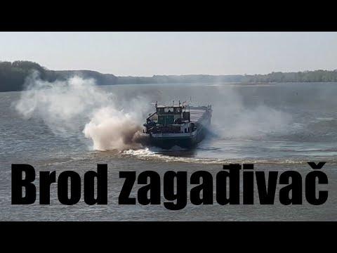 """Brod Zagađivač - """"Lomnica"""""""