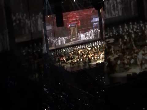 Andrea Bocelli - Nessa Dorma {Prudential Center NJ 12/18/16}