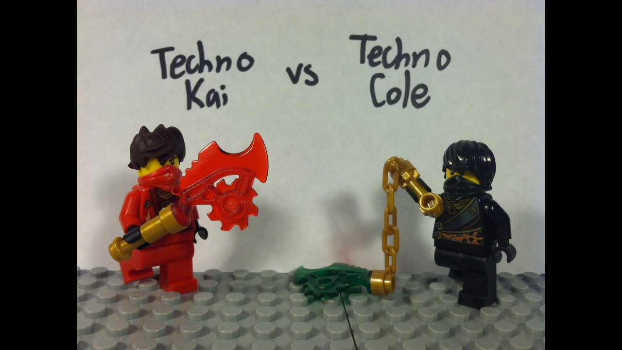 Lego ninjago techno kai vs techno cole youtube - Ninjago vs ninjago ...