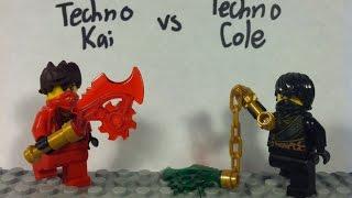 Lego Ninjago: Techno Kai vs Techno Cole
